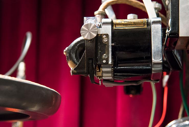 画像: ウェストレックス製のモノラル用カッティングヘッド