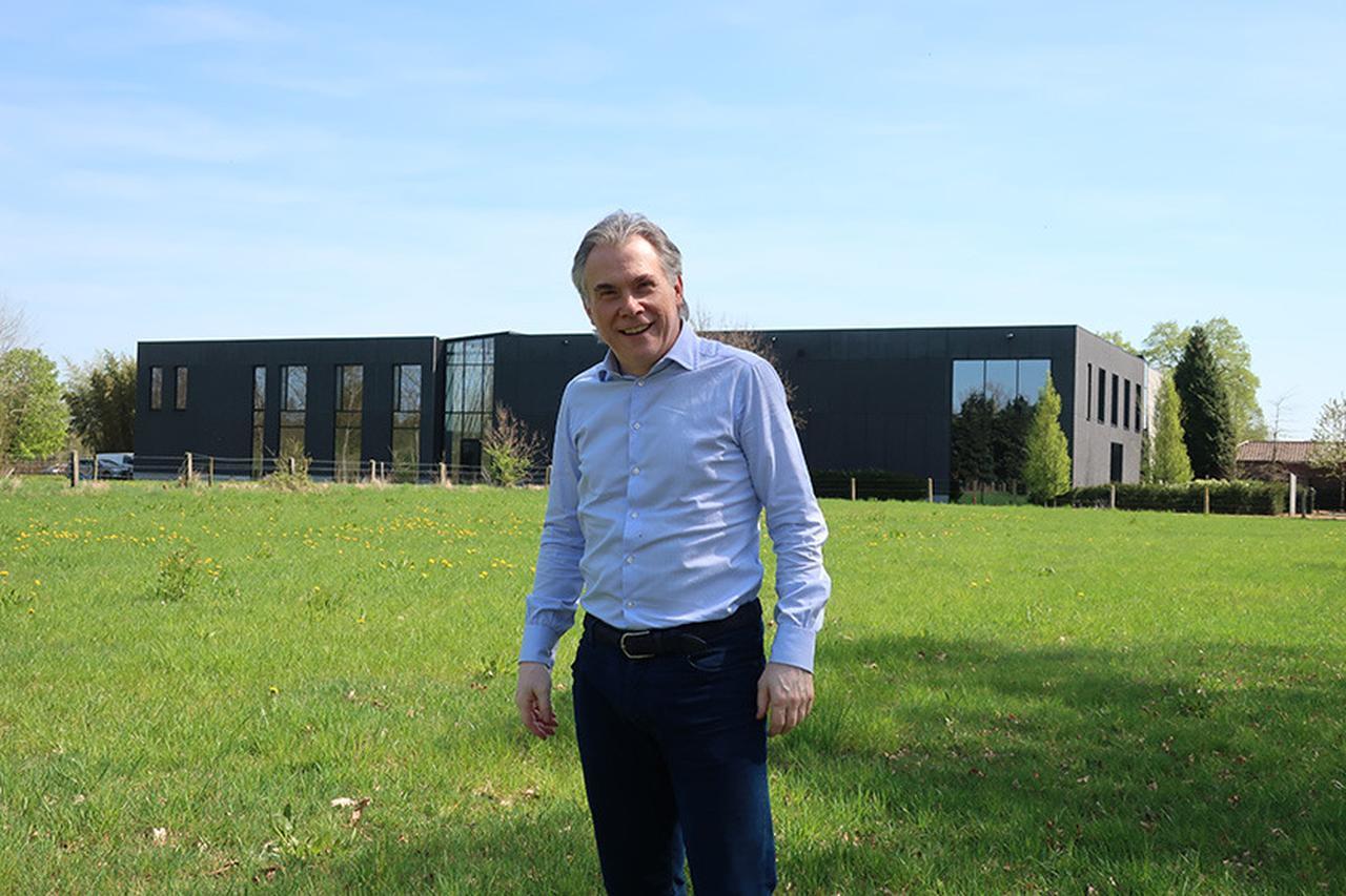 画像: ギャラクシースタジオの創始者、ヴィルフリート・ヴァン・ベーレンさん