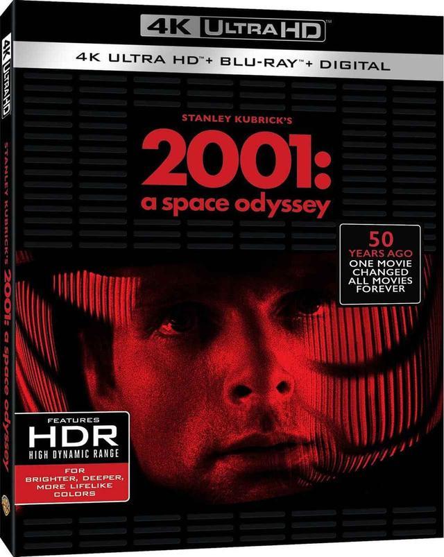 画像1: 映画史に燦然と輝く名作SF 『2001年宇宙の旅』 (4K UHD BLU-RAY / NEWLY REMASTERED)(2001:A SPACE ODYSSEY)