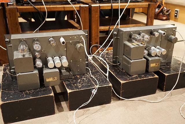 画像: 「1520T」の背面。このモデルは1950~60年代に録音スタジオでモニターアンプとして親しまれた名機だ