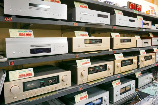 画像: オーディオファンに人気のアキュフェーズやラックスマンの製品を豊富に取り揃える