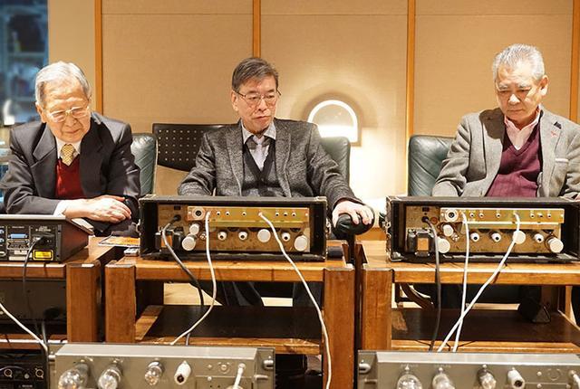 画像: テスターのお三方。左から新 忠篤氏、篠田寛一氏、土井雄三氏
