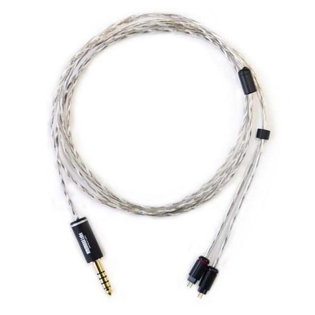 画像: NOBUNAGA Labs、カスタム2ピン⇔4.4mmバランスリケーブル「ODIN」発売。OCCと純銀のハイブリッド導体採用