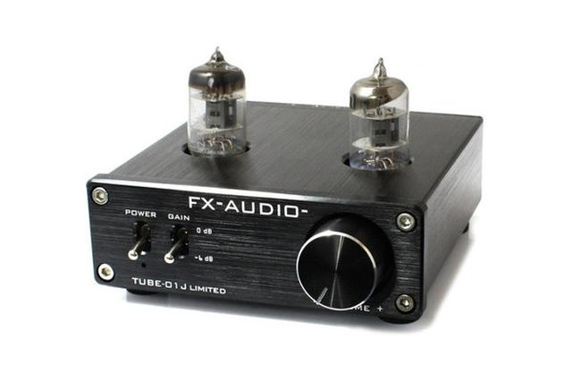 画像: FX-AUDIO-、選別品で音質を向上させた6,480円の真空管プリアンプ「TUBE-01J LIMITED」を限定発売