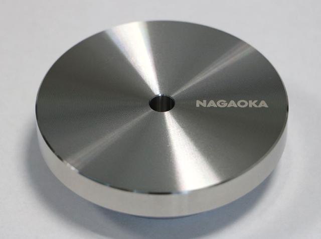 画像: ナガオカ、レコードの密着性を高めるスタビライザー「STB-SU01」、3/26に発売。ステンレス製で質量600g