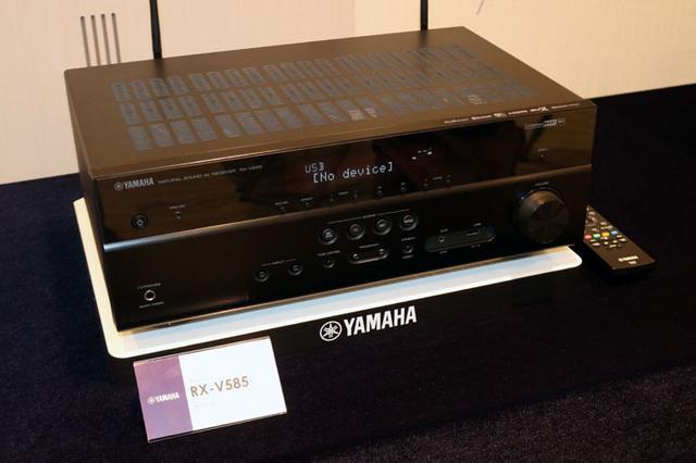 画像: 【速攻レビュー付】 ヤマハ、新AVアンプ「RX-V585」、「RX-V485」を5月下旬に発売。ネットワーク機能を強化した