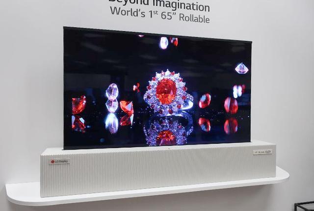 画像: 【麻倉怜士のCES2018レポート07】驚異の「巻き取り有機ELテレビ」が65型に。ホームシアターのスクリーンに取って代わる?!