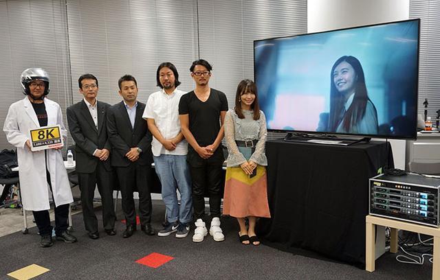 画像: シャープ「AQUOS 8K」体験&トークショー開催。8K映像のクォリティにSKE48の松村香織さんも仰天