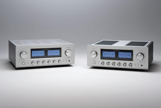 画像: ラックスマンのAB級プリメイン「L-505uXII」と「L-507uXII」。マークIIになって音の密度感や分解能が進化