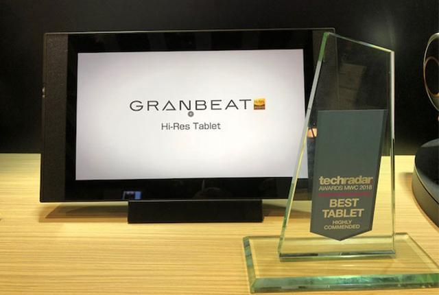 画像: オンキヨーがMWC2018に参考出展した「GRANBEAT Hi-res Tablet」が、ベストタブレット賞を受賞