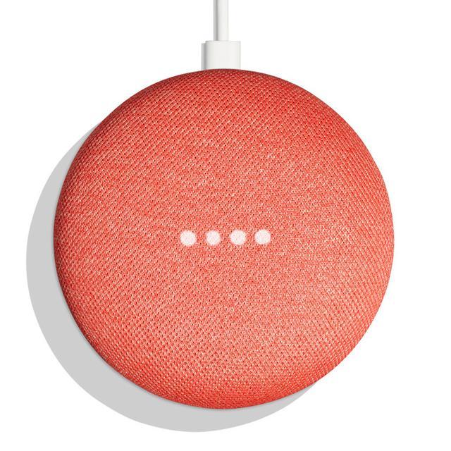 画像: ビックカメラ、音声AI搭載スマートスピーカー「Google Home Mini」のコーラルカラーモデルの取り扱いをスタート