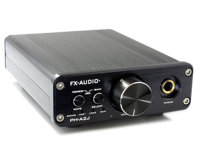 画像: FX-AUDIO-、高音質パーツを搭載したヘッドホンアンプ「PH-A2J」、6880円で、本日3月30日に発売