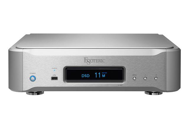 画像: エソテリック初のネットワークトランスポート「N-03T」が2/15発売。780,000円。同社DACやプレーヤーと組合せられる