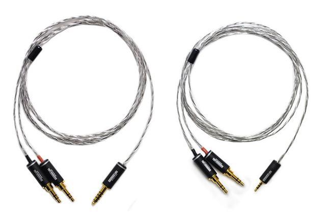 画像: NOBUNAGA Labs、バランス接続用ヘッドホンリケーブル「華厳」と「竜頭」を発売。ともにヘッドホン側は3.5mm×2端子採用