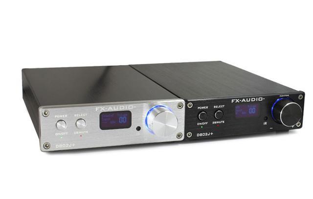 画像: FX-AUDIO-、アナログ入力を追加したフルデジタルアンプ「D802J+」、12,800円で発売中