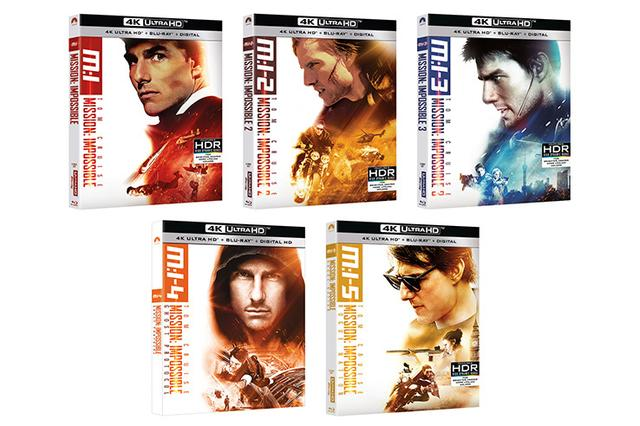 画像: 海外盤速報『ミッション:インポッシブル』5部作がUHD Blu-rayで6/26海外リリース【映画番長の銀幕旅行】