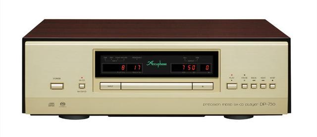 画像: アキュフェーズ、一体型SACD/CDプレーヤーの最上位機「DP-750」発表。6月下旬発売で、価格は120万円!