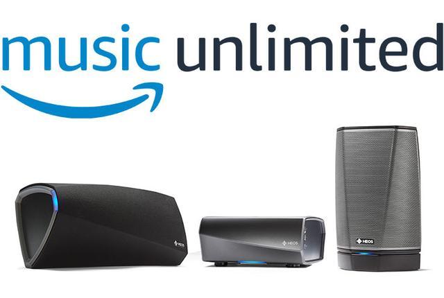 画像: デノンのAVアンプとワイヤレスオーディオHEOSが「Amazon Music Unlimited」に対応。本日ファームウェア配信
