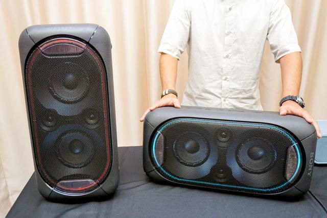 画像: ソニー、幅27cm×高さ56cmの巨大なBluetoothスピーカー「SRS-XB60」発表。重低音再生&LEDイルミ付きで4万円