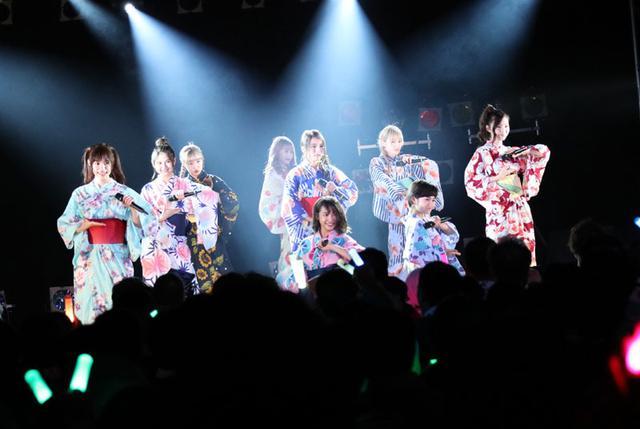 画像: 東京パフォーマンスドール/「恋の予感」をテーマに、夏のライヴ・シリーズを開催。ゆかた姿、上西星来の生誕など話題満載!!