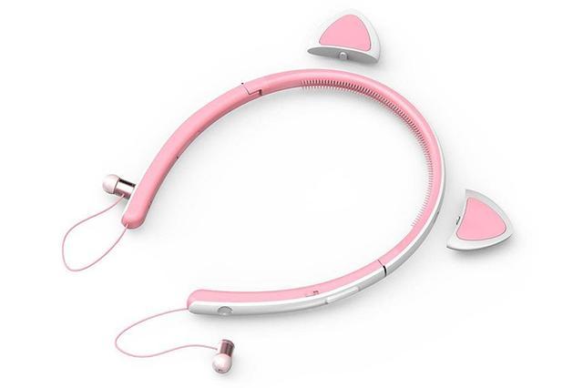 画像: Tronsmart、うさ耳搭載Bluetoothイヤホン「Bunny」を2,999円で発売。着脱式の耳はLED内蔵で光る!