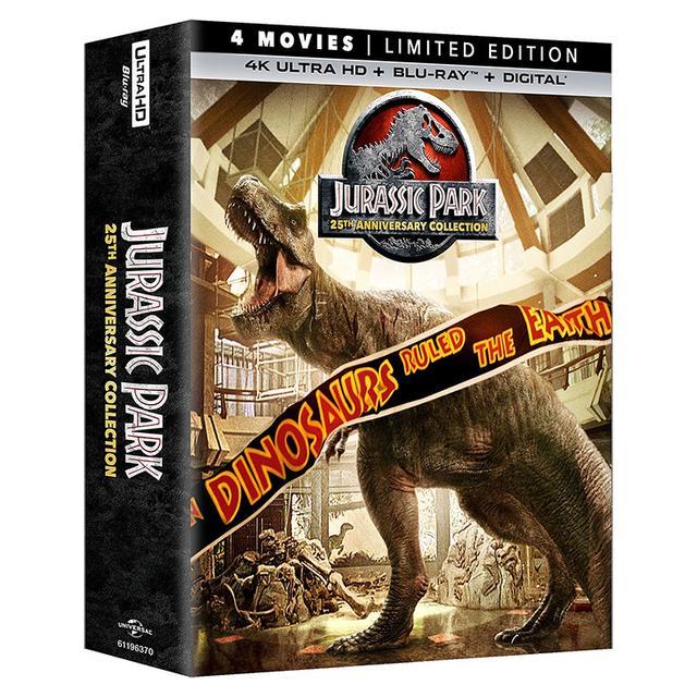 画像: 映画番長の銀幕旅行3/2:『ジュラシック・パーク・コレクション』4K UHD Blu-rayで蘇るメガヒット恐竜パニック・シリーズ
