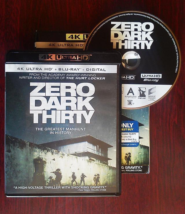 画像: 映画番長のUHD BDレビュー【世界4K-Hakken伝】 キャスリン・ビグロー監督 『ゼロ・ダーク・サーティ』
