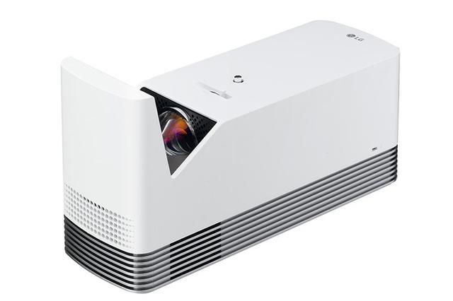 画像: LG、超短焦点レーザーDLPプロジェクター「HF85JG」を20万円で発売。投影面から20cmで120インチの大画面を投写