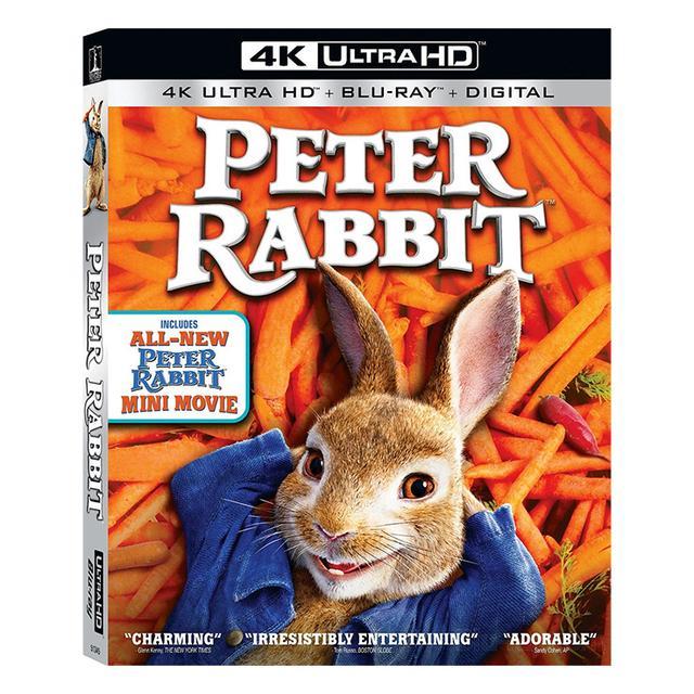 画像: 映画番長の銀幕旅行4/3『ピーターラビット』名作絵本の実写版映画が4K UHD Blu-rayで発売