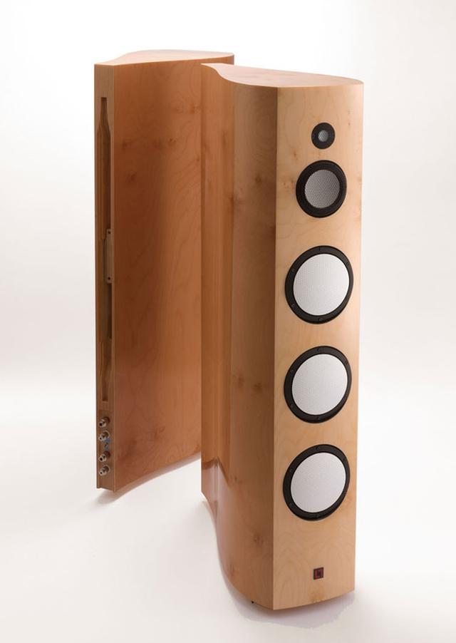 画像: アクシス、ルーメンホワイトのフロア型スピーカー「Kyara」(キアラ)発表。10月発売でペア650万円