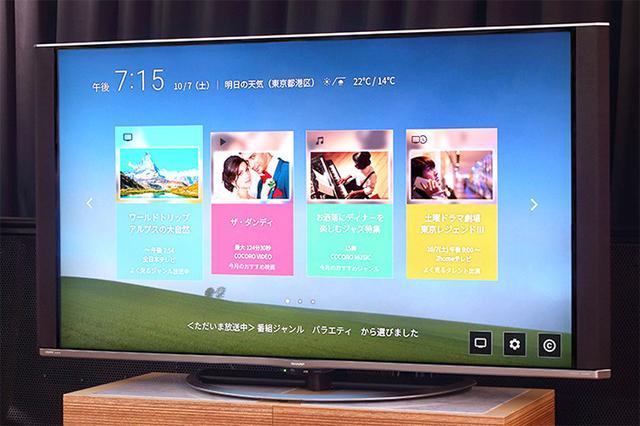 画像: シャープAQUOS 4Kで「COCORO VISION」体験を満喫。今加入すると先着で2万円分のポイントがもらえる!