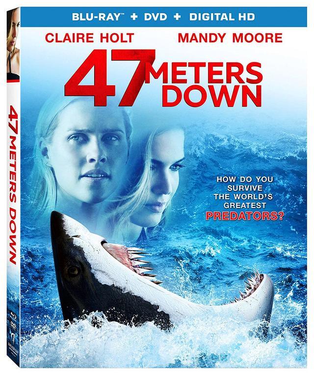 画像: 映画番長の銀幕旅行 8/3公開:水深47mで待ち受ける、大鮫パニック・サスペンス 『海底47m』(BD)