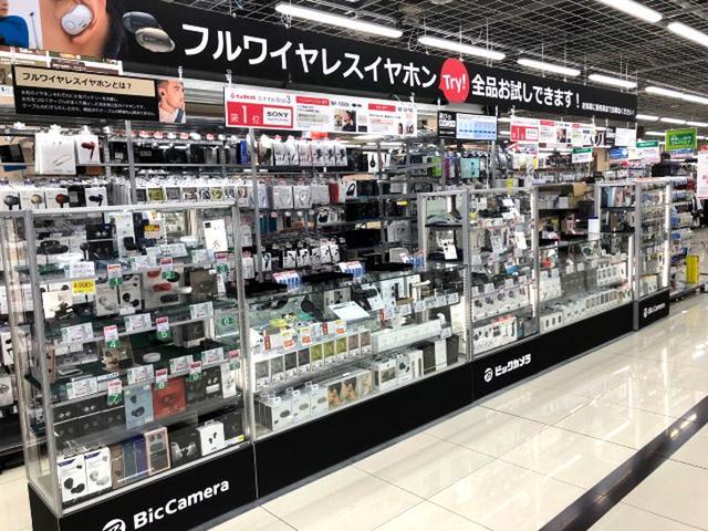 画像: ビックカメラ、札幌店に完全ワイヤレスBluetoothイヤホンコーナーを、本日6月1日に開設
