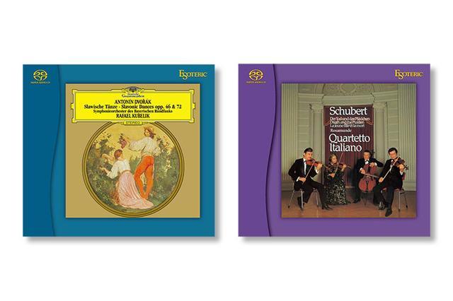 画像: エソテリック名盤復刻シリーズに『ドヴォルザーク:スラヴ舞曲集』『シューベルト:弦楽四重奏第14番、第13番』のSACD発売