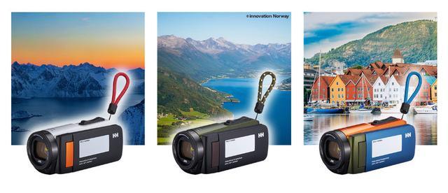 画像: JVC、HELLY HANSENとコラボしたビデオカメラ「Everio R」を発売各200台限定でオシャレな3色を揃える