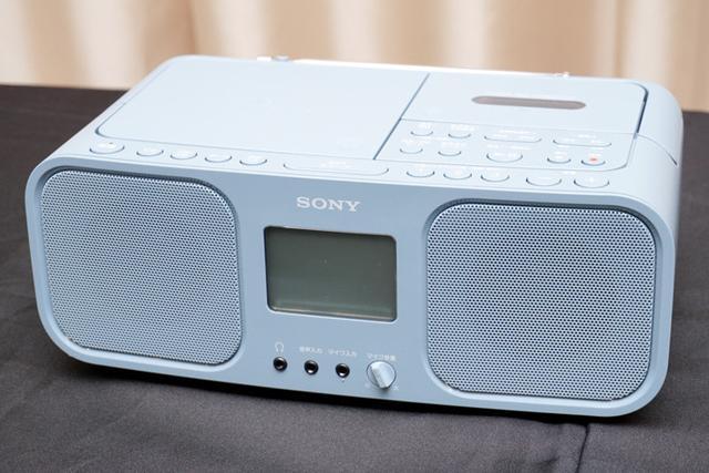 画像: カセットテープブームをさらに加速!? ソニー、CDラジカセ「CFD-S401」に新色ブルーグレーを追加