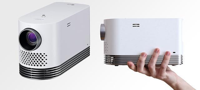 画像: LG、A5サイズの小型レーザープロジェクター「HF80JG」6/21発売。19万円