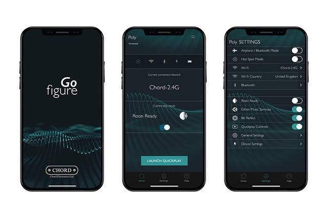 画像: 英国Chord、ポタアン「Mojo」専用モジュール「Poly」の設定管理アプリ「Gofigure」のiOS版を配信開始