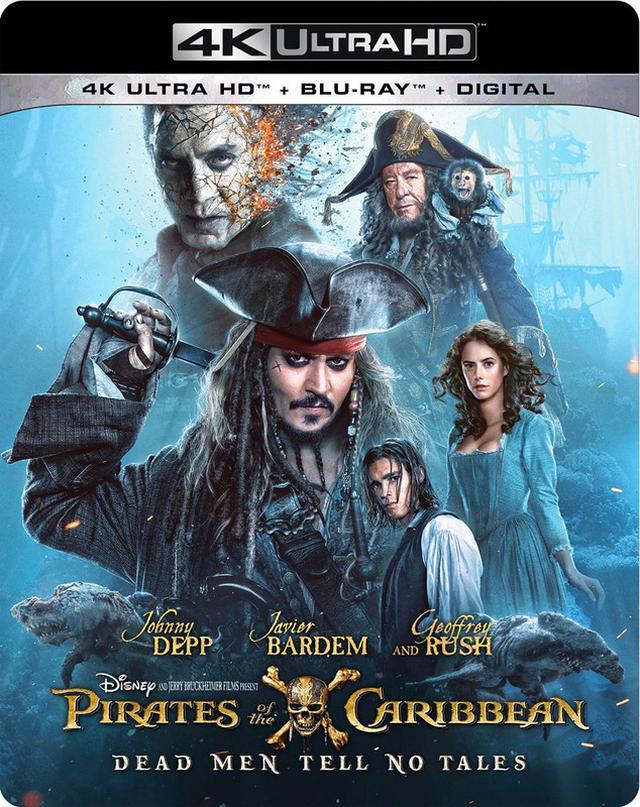 画像: 映画番長の銀幕旅行 7/14公開:乞うご期待、4Kジャック・スパロウ! 『パイレーツ・オブ・カリビアン/最後の海賊』