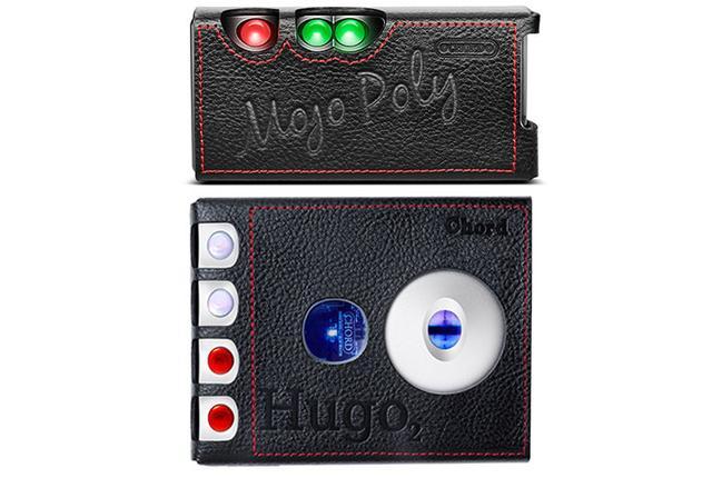 画像: Chordがバンナイズとコラボし「Mojo+Poly」と「Hugo 2」純正ケースを発売。黒いレザーに赤いステッチが映える