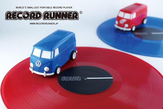 画像: ストウキョウ、人気の自走式レコードプレーヤー「RECORD RUNNER」に新色追加。10/20より発売