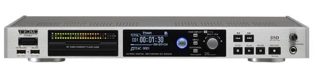 画像: TEAC、アナログ音源をハイレゾ化できるレコーダー「SD-500HR」、11月中旬に発売。8万円