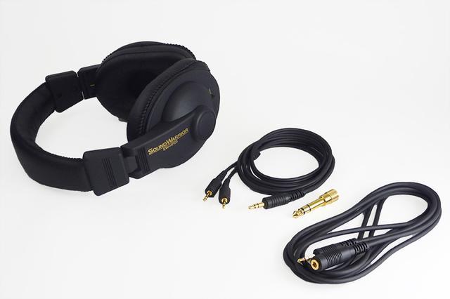画像: サウンドウォーリア、ヘッドホン「SW-HP20」付属ケーブルを3.5mmステレオミニタイプに変更。18,500円と安価に