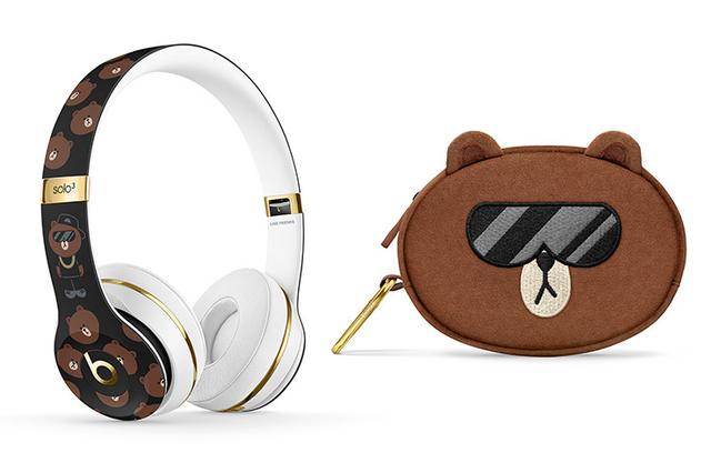 画像: BeatsとLINEがコラボ! ブラウンいっぱいのBluetoothヘッドホン「Beats Solo3 Wireless」発売