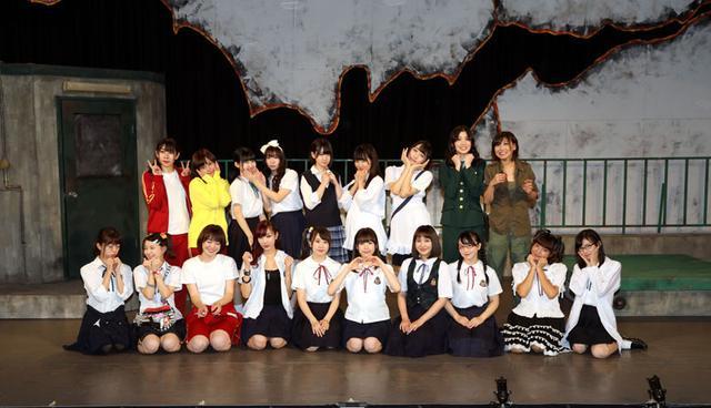 画像: 船岡咲、若林倫香/舞台「アリスインデッドリースクール・ノクターン」、新宿村LIVEで絶賛上演中