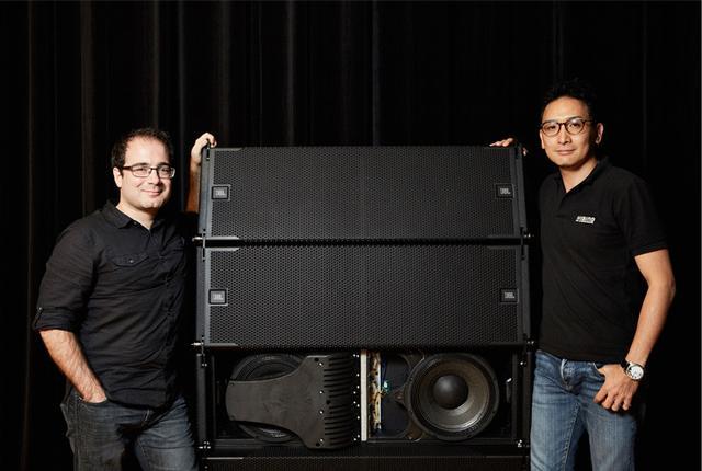 画像: 数々の最新テクノロジーを投入した ラインアレイ・スピーカー JBL VTX-A12 プロダクトマネージャー氏に伺った