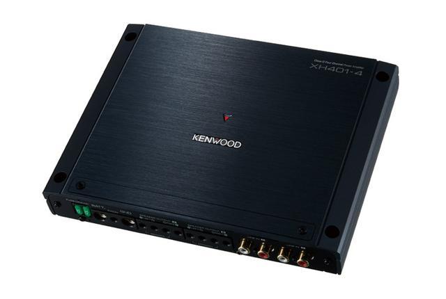 画像: ハイレゾ対応、カーオーディオ用デジタルパワーアンプ「XH401-4」を4月に発売、ケンウッド