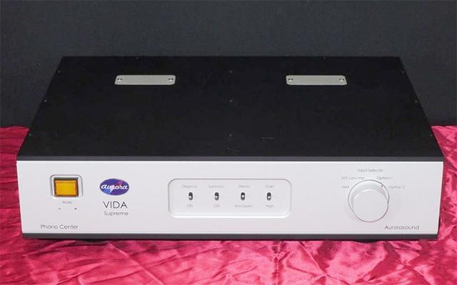 画像: オーロラサウンド、LCR型フォノイコライザーアンプの新製品「VIDA Supreme」を11月上旬に発売。90万円