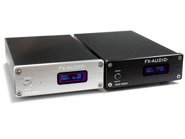 画像: FX-AUDIO-、ハイレゾ対応のコンパクトDAC「DAC-Q5J」、本日10/30発売。電源別売で9800円