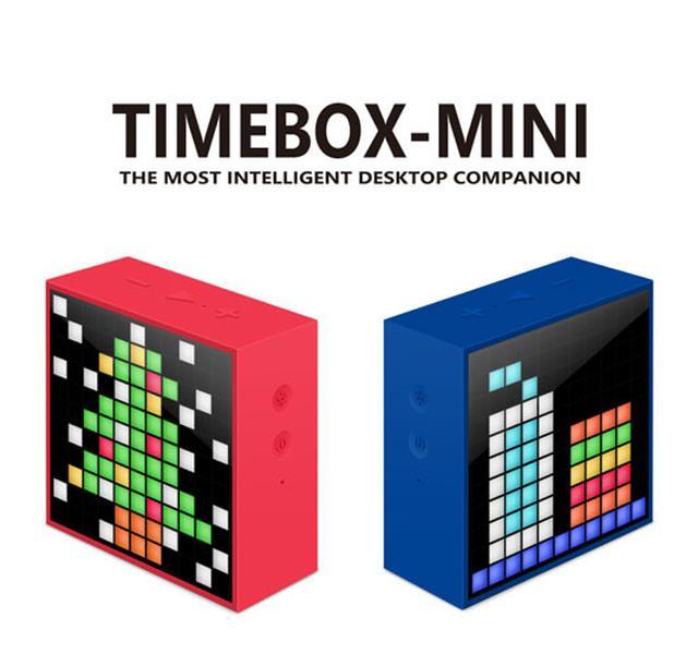 画像: Divoomより、デザインアニメが楽しめるBluetoothスピーカー「TimeBox mini」が登場。9月15日から先行販売